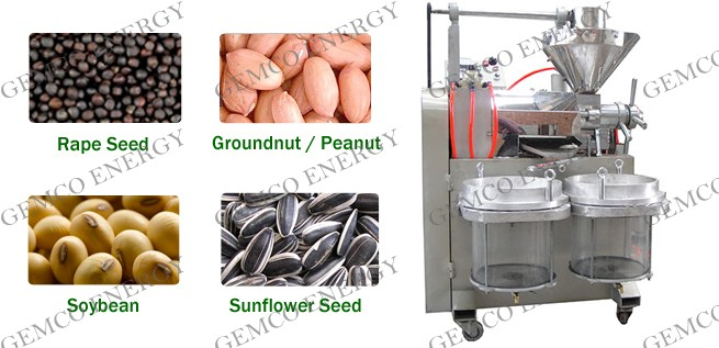 automatic oil expeller press for seeds and nuts