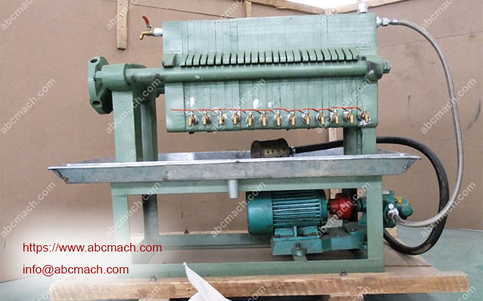 edible oil filter press machine